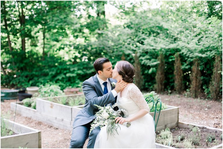 herb garden wedding
