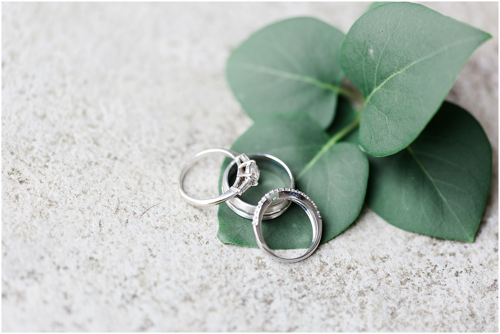 wedding rings band and engagement ring